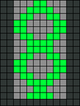 Alpha Friendship Bracelet Pattern #21540