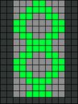 Alpha pattern #21540