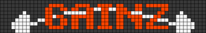 Alpha Friendship Bracelet Pattern #21541
