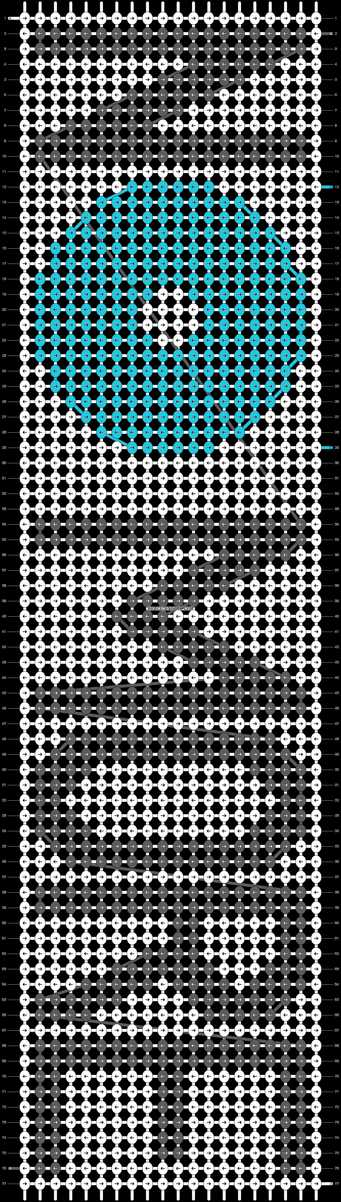 Alpha pattern #21545 pattern