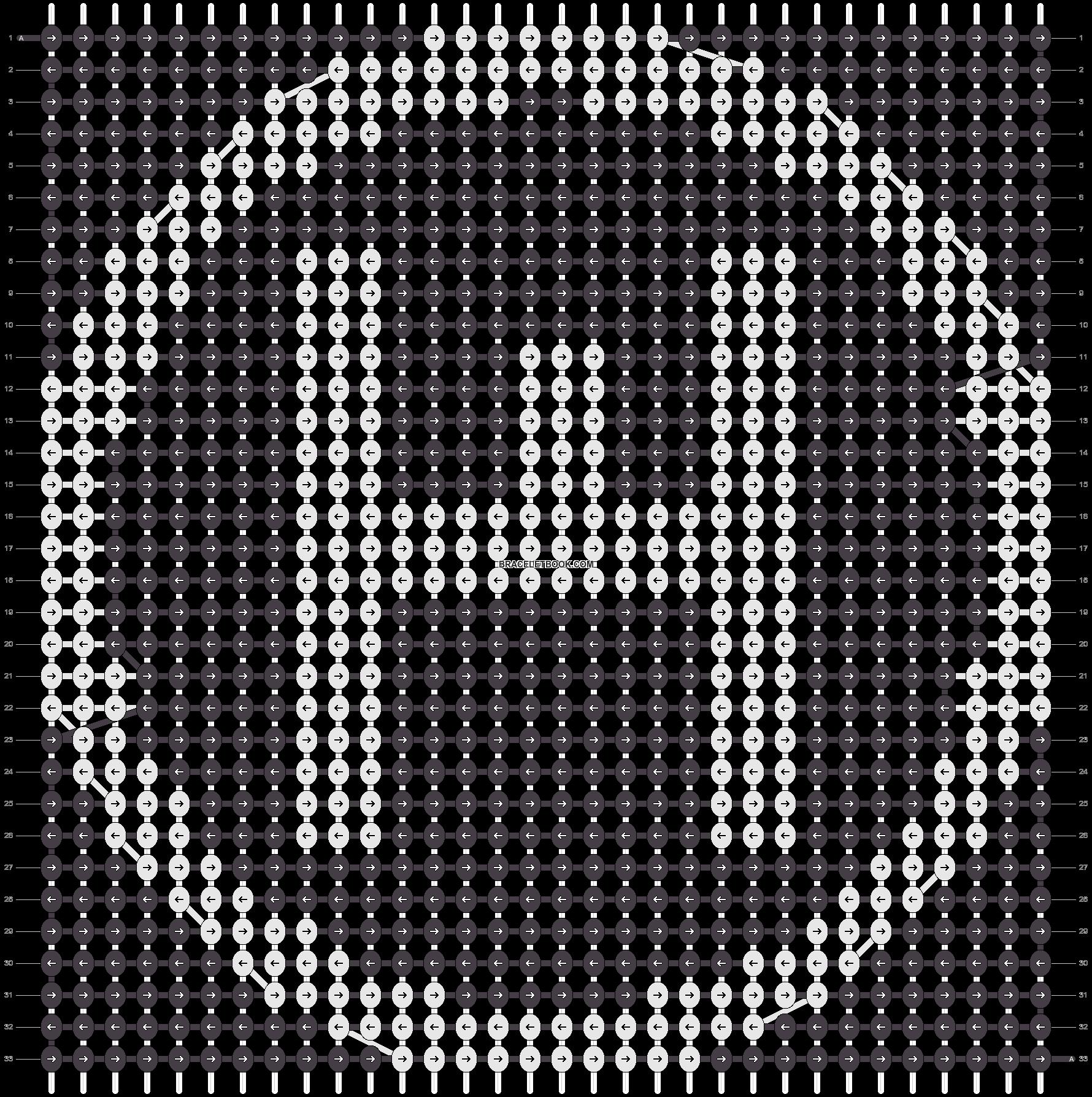Alpha pattern #21546 pattern