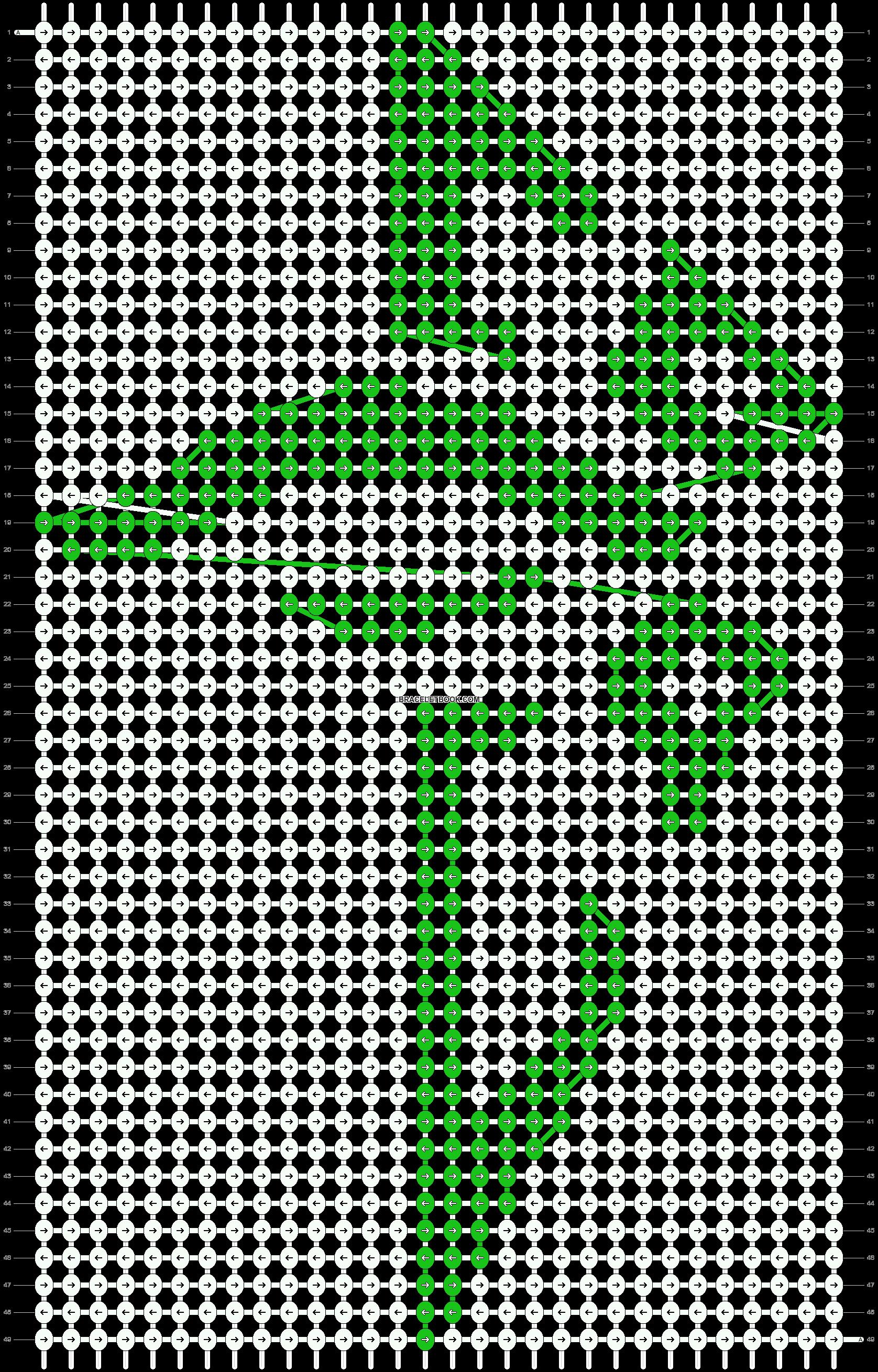 Alpha pattern #21551 pattern