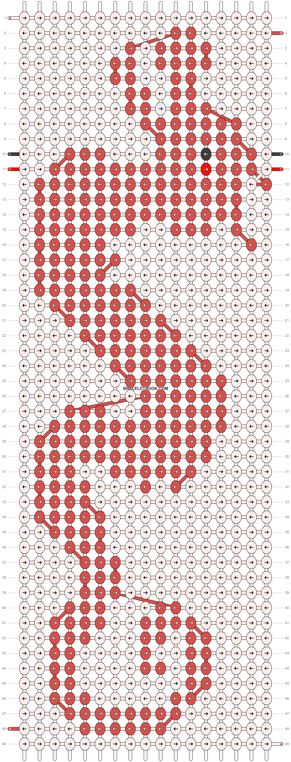 Alpha pattern #21553 pattern