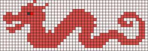 Alpha Friendship Bracelet Pattern #21553