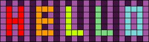Alpha pattern #21557