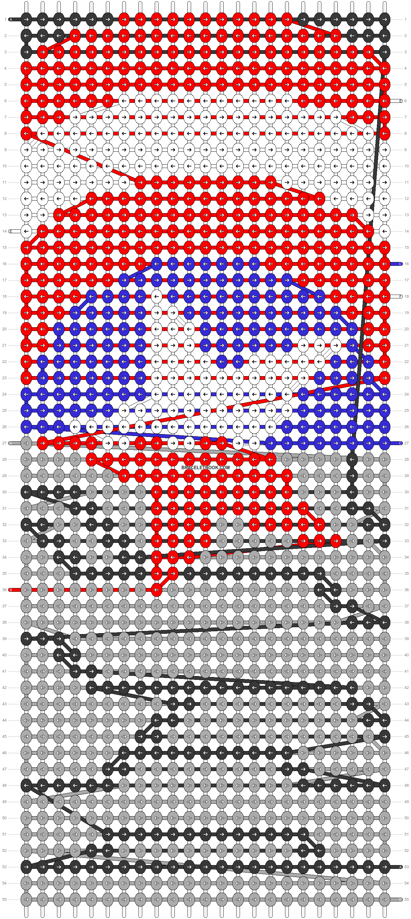 Alpha pattern #21563 pattern