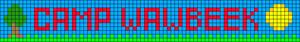 Alpha pattern #21567
