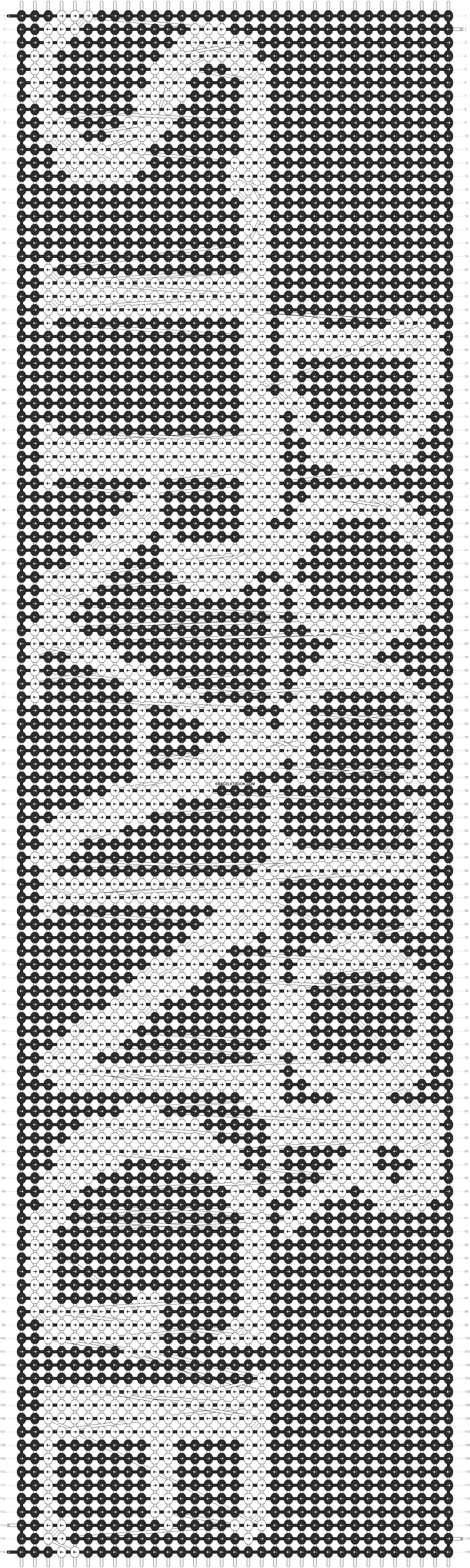 Alpha pattern #21573 pattern