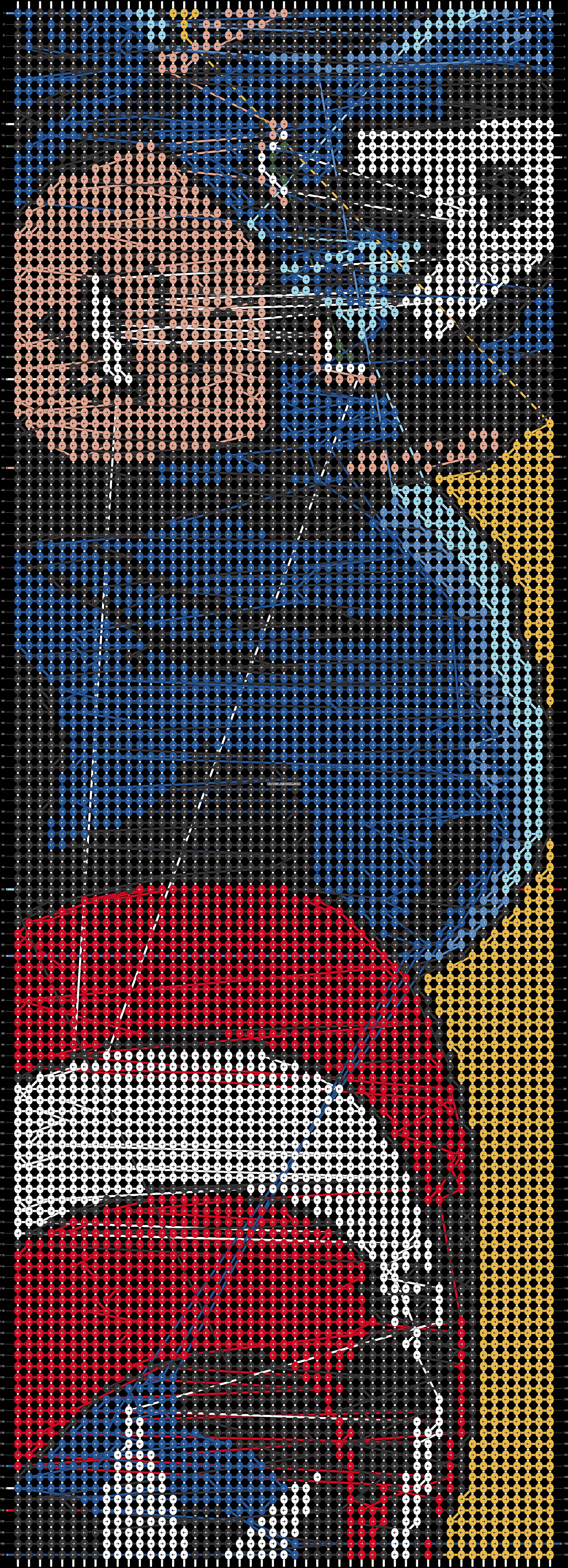 Alpha pattern #21575 pattern