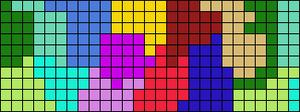 Alpha pattern #21587