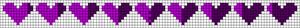 Alpha Friendship Bracelet Pattern #21591