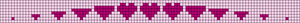 Alpha Friendship Bracelet Pattern #21593