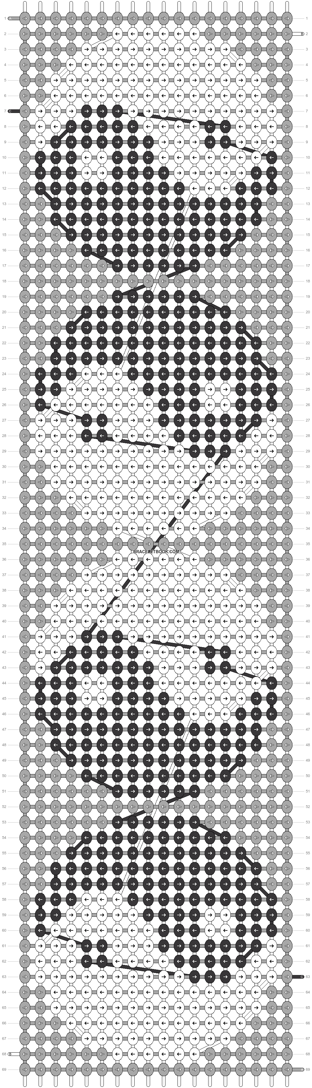 Alpha pattern #21595 pattern