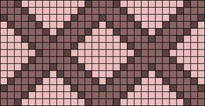 Alpha Friendship Bracelet Pattern #21596