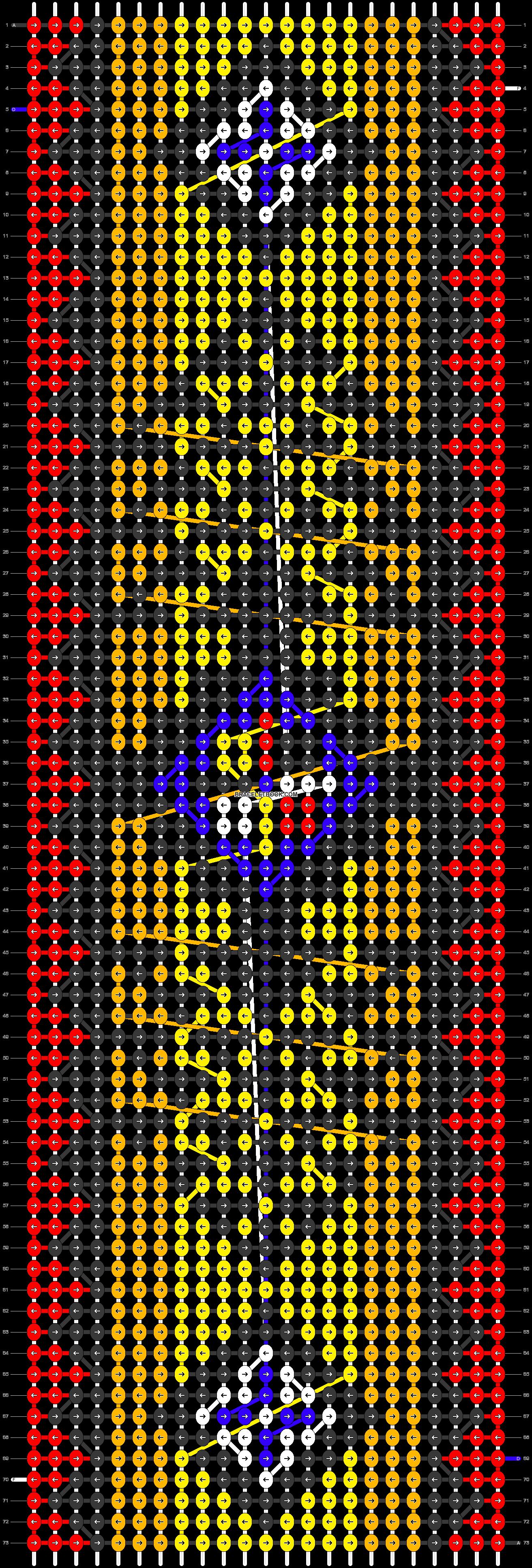 Alpha pattern #21598 pattern