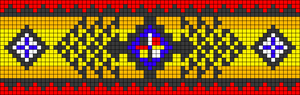 Alpha Friendship Bracelet Pattern #21598