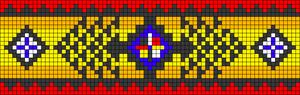 Alpha pattern #21598