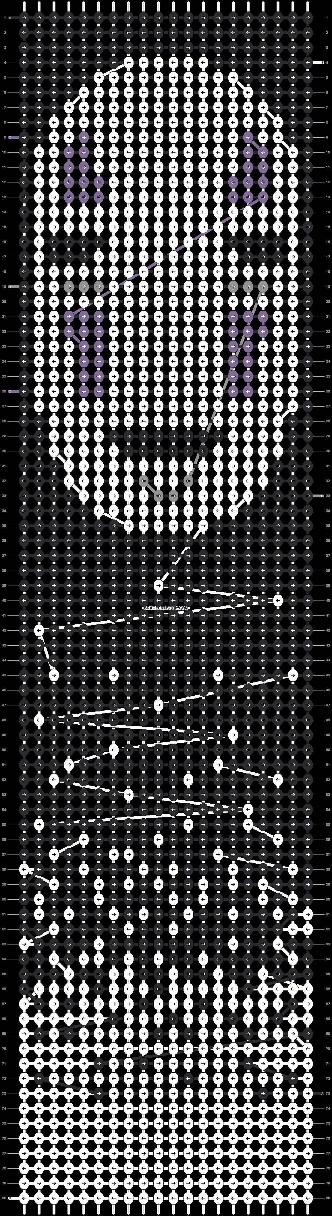 Alpha pattern #21599 pattern