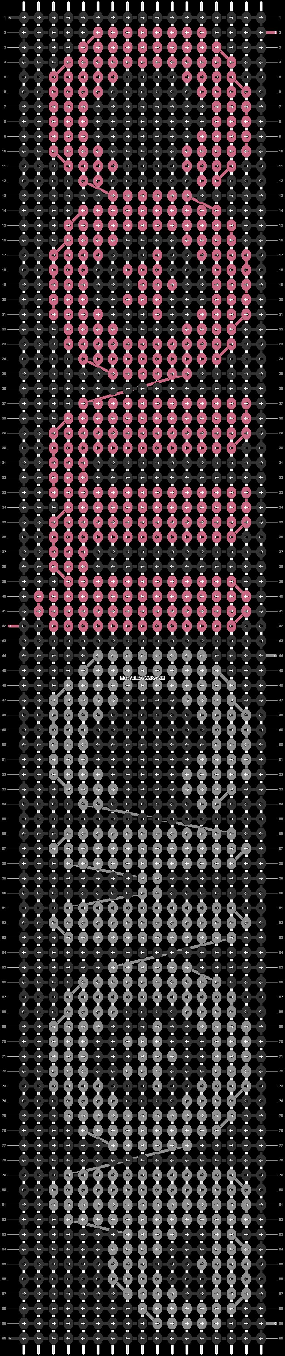 Alpha pattern #21601 pattern
