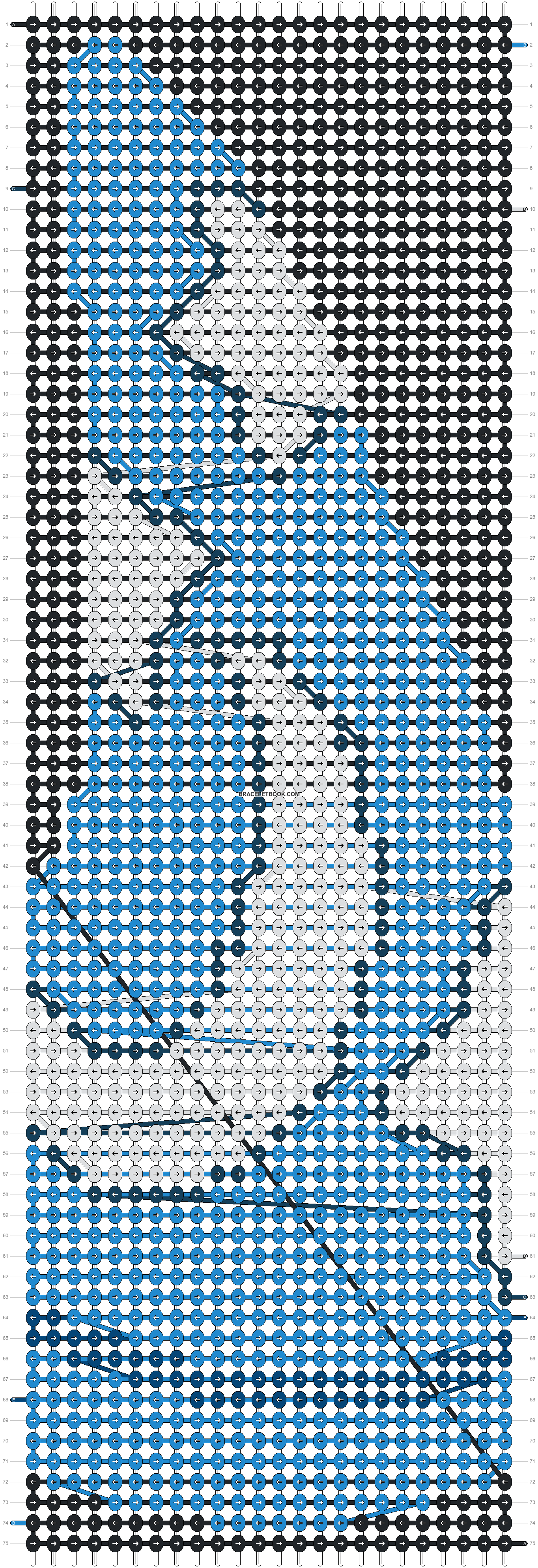 Alpha pattern #21602 pattern