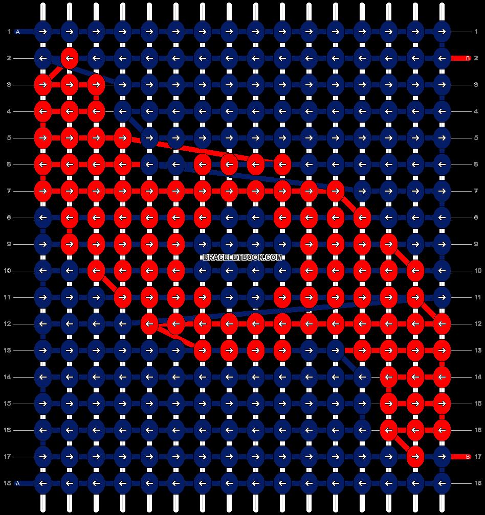 Alpha pattern #21604 pattern