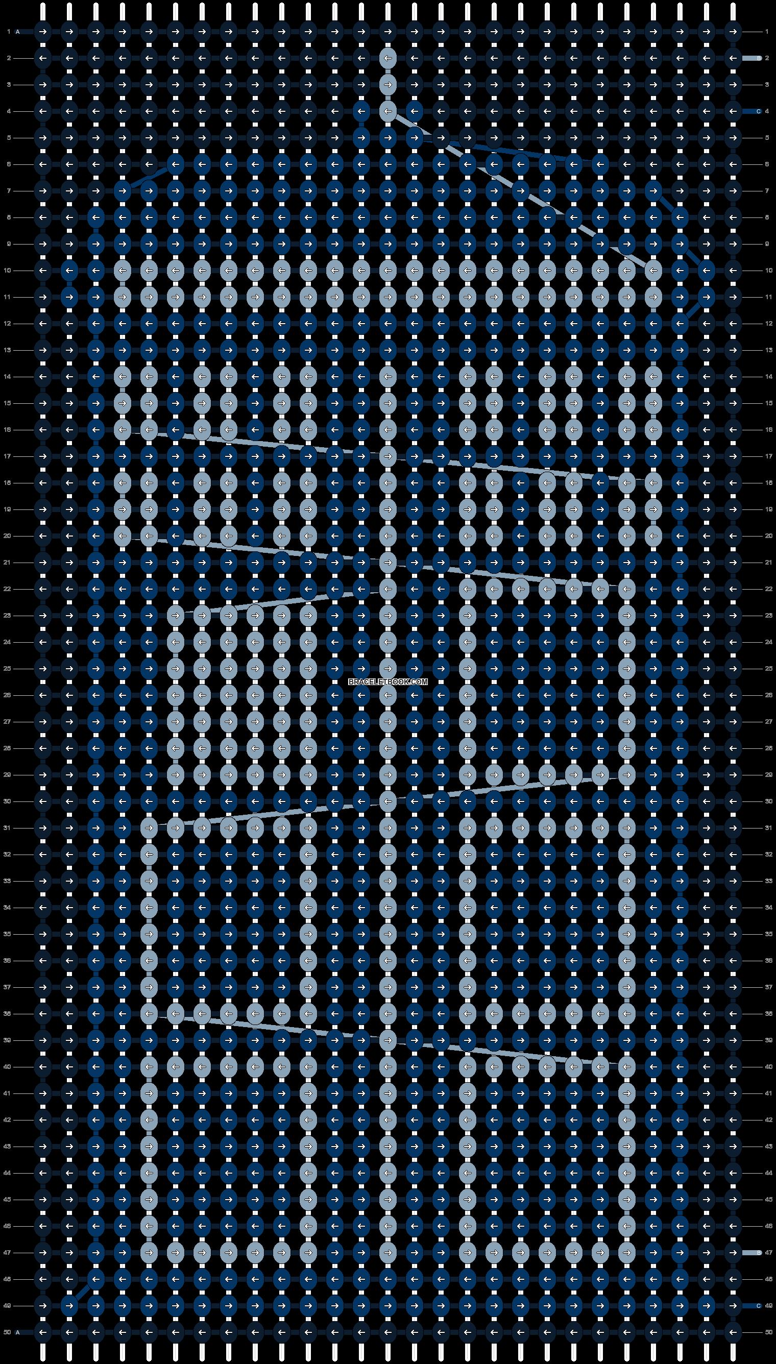 Alpha pattern #21606 pattern
