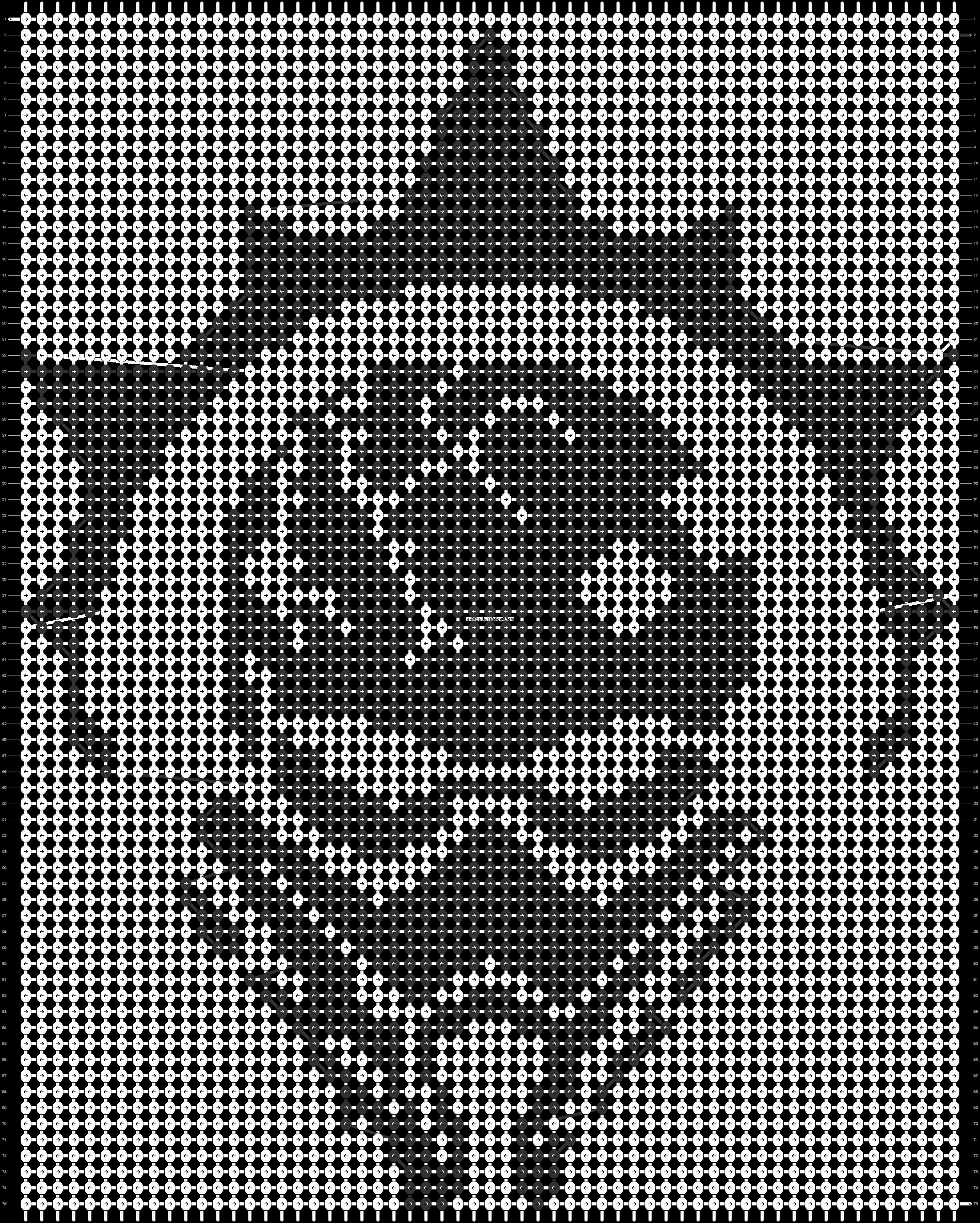 Alpha pattern #21611 pattern