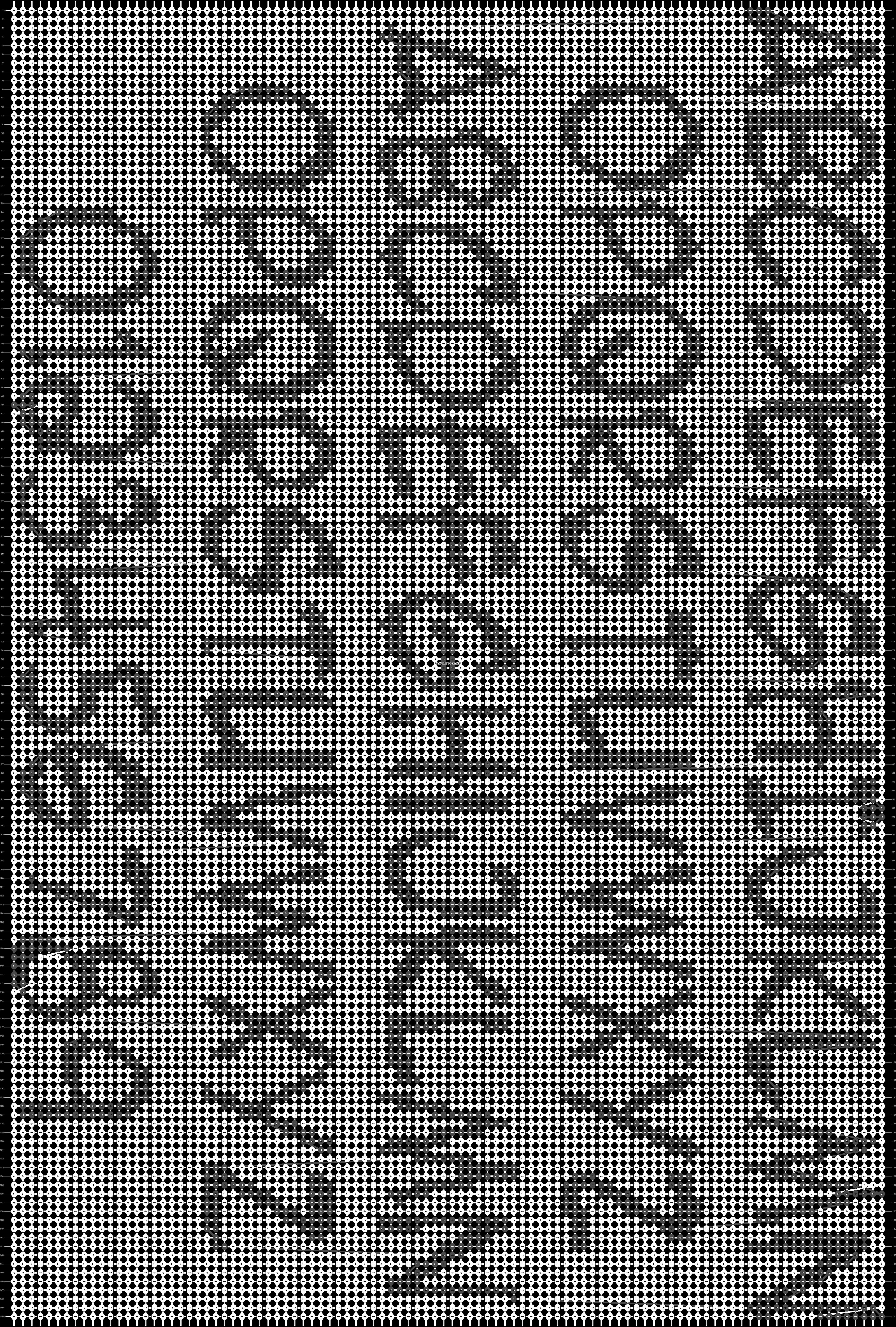 Alpha pattern #21612 pattern
