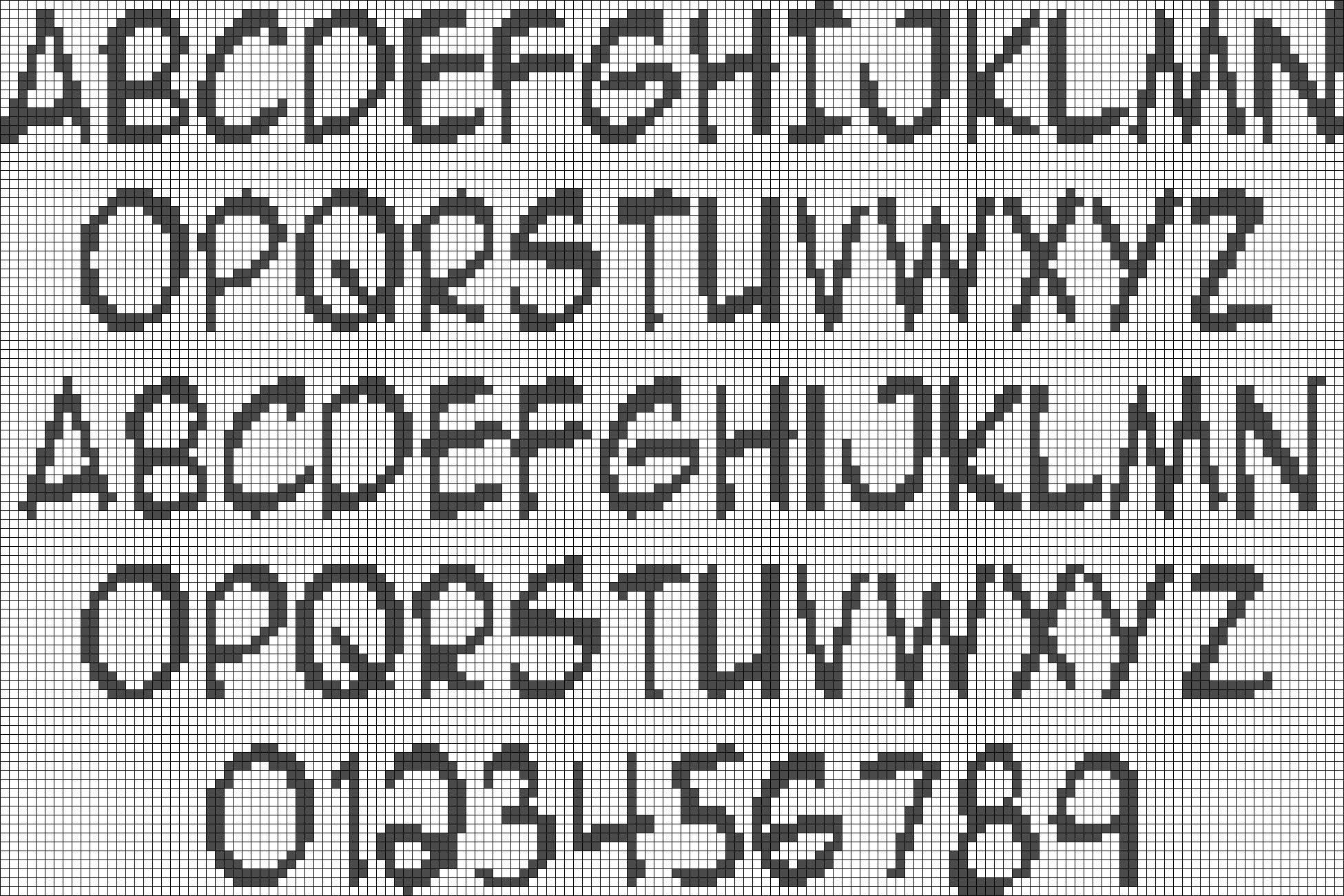 Alpha pattern #21612 preview