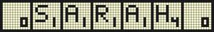 Alpha pattern #21613