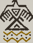 Alpha Friendship Bracelet Pattern #21634