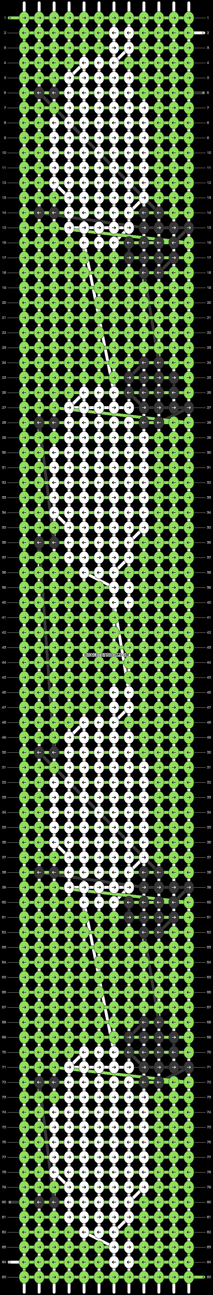Alpha pattern #21640 pattern
