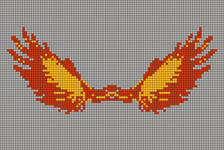 Alpha pattern #21651