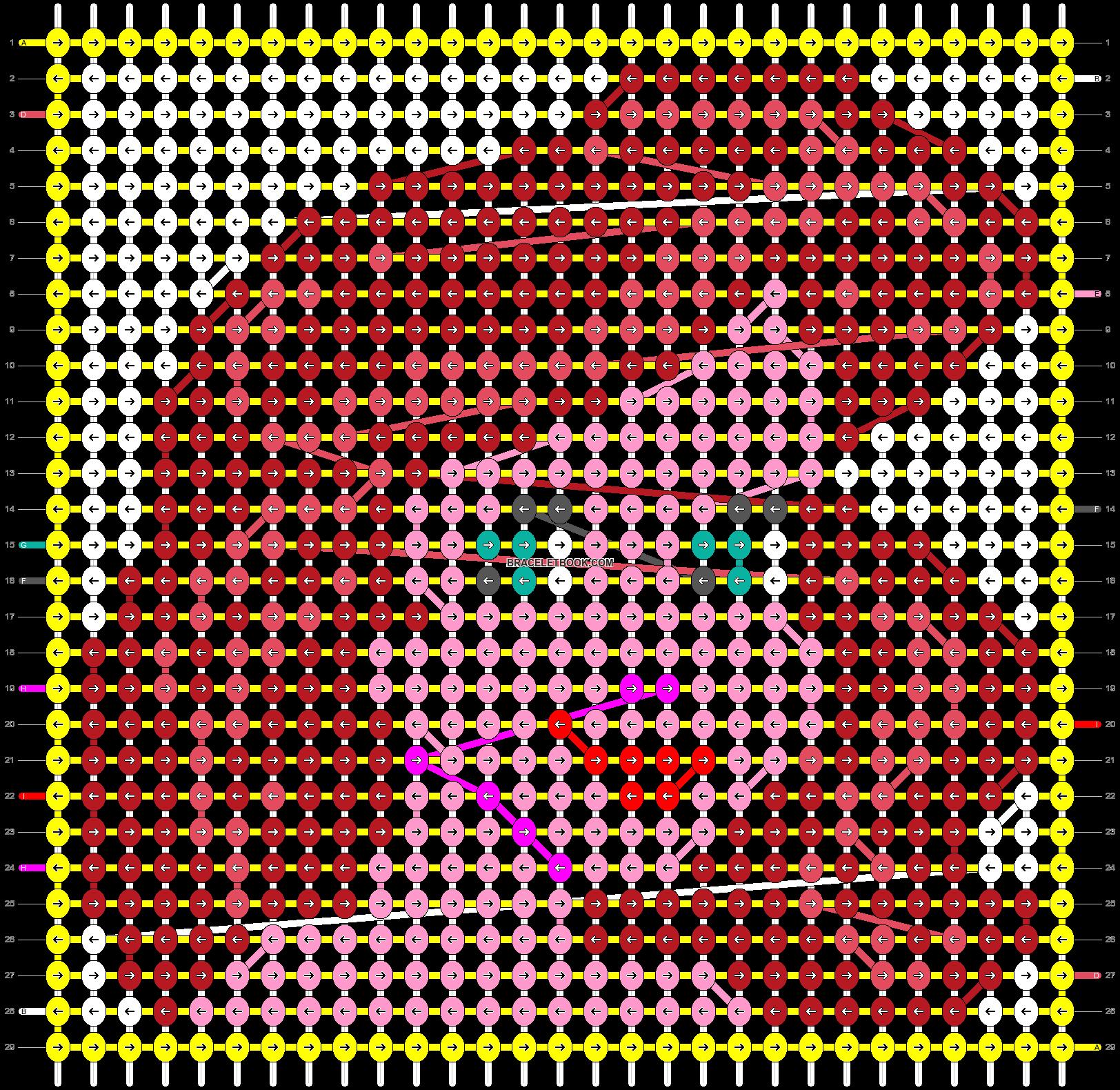 Alpha pattern #21652 pattern