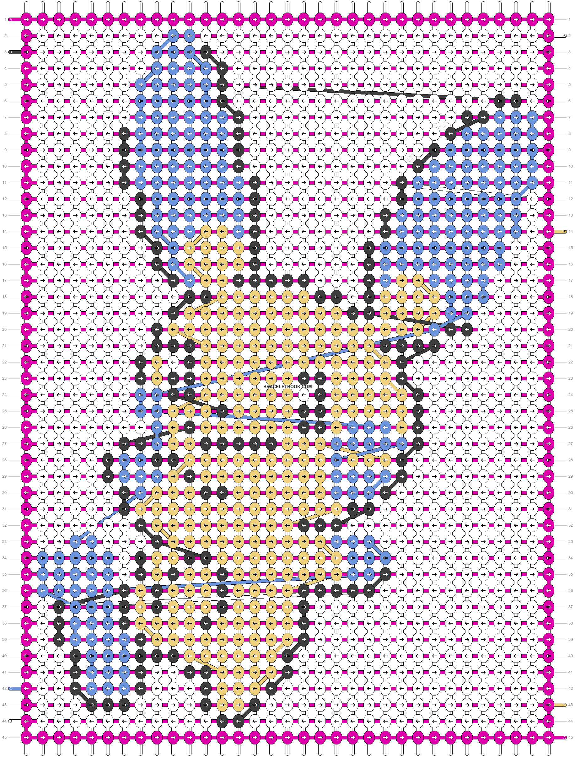 Alpha pattern #21654 pattern