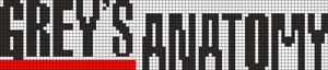 Alpha Friendship Bracelet Pattern #21663