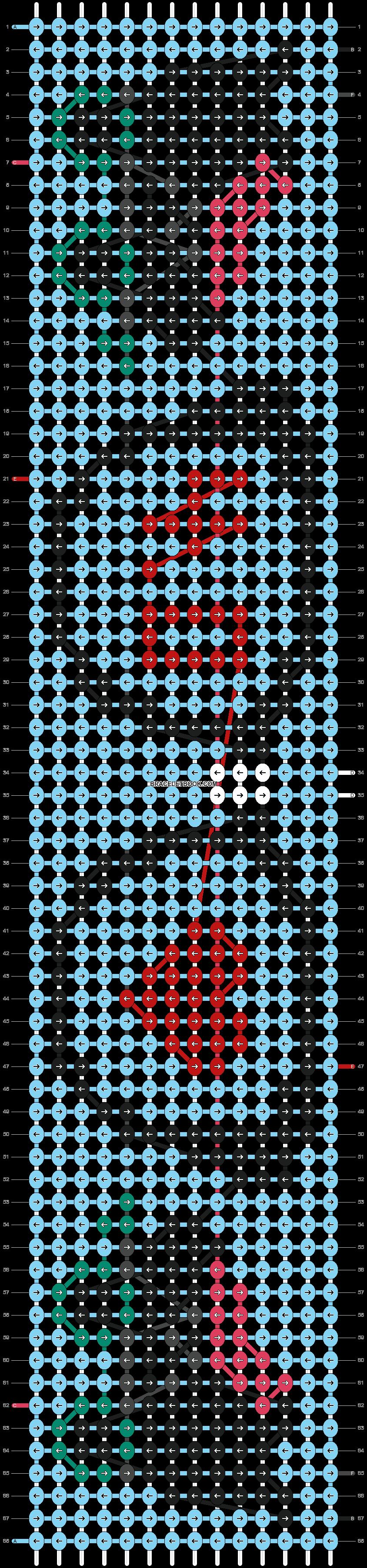 Alpha pattern #21666 pattern