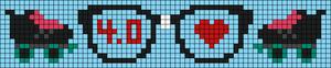 Alpha pattern #21666
