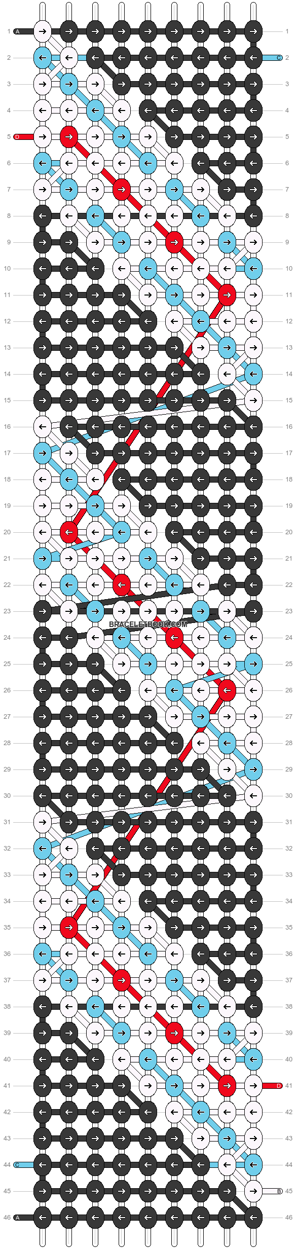 Alpha pattern #21669 pattern