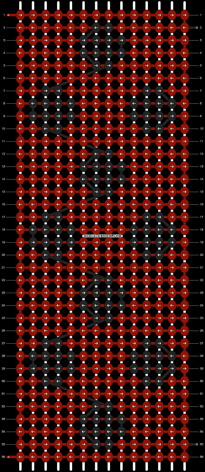 Alpha pattern #21670 pattern
