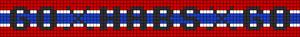 Alpha Friendship Bracelet Pattern #21674