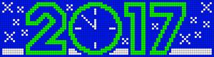 Alpha pattern #21677