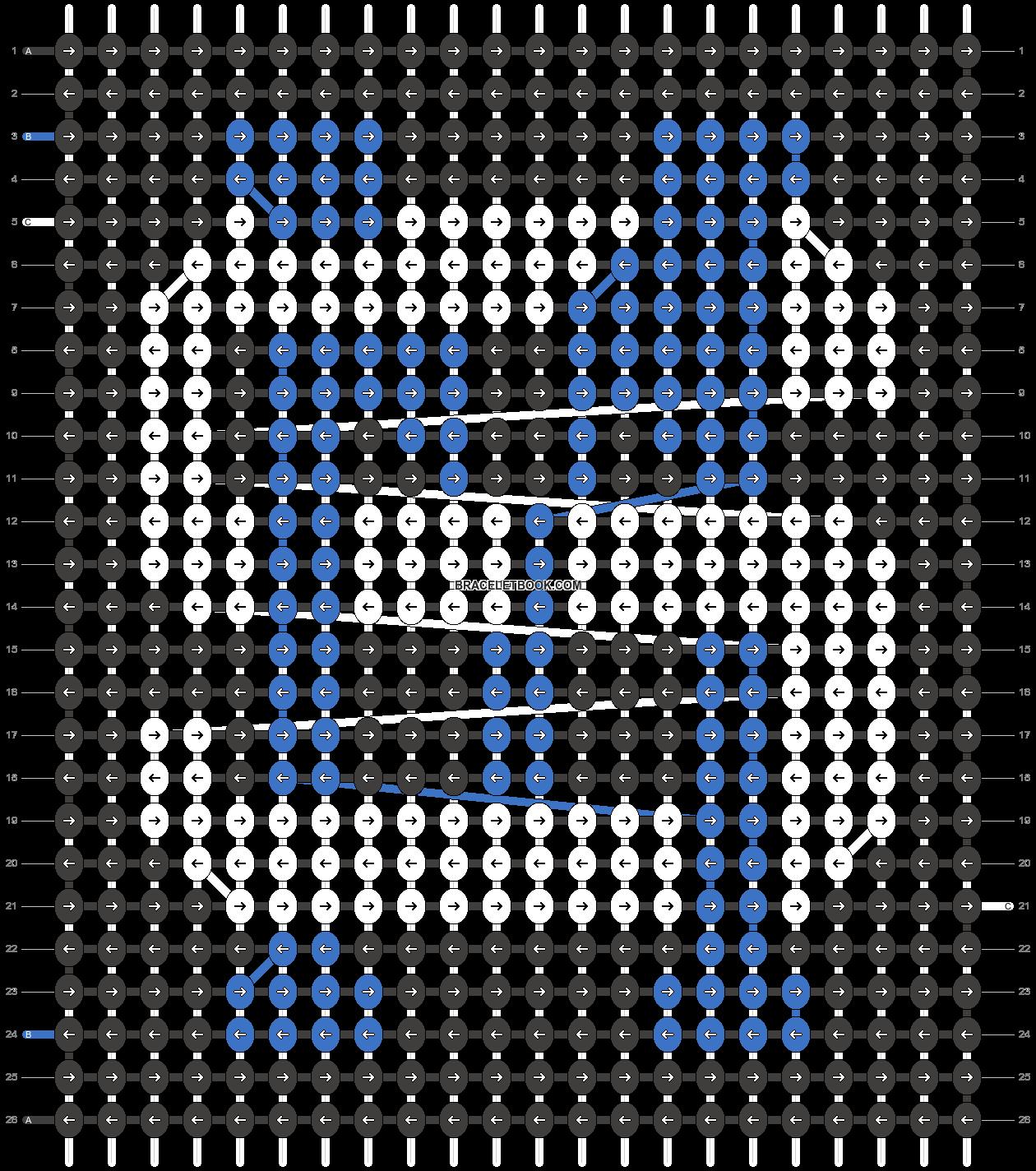 Alpha pattern #21688 pattern