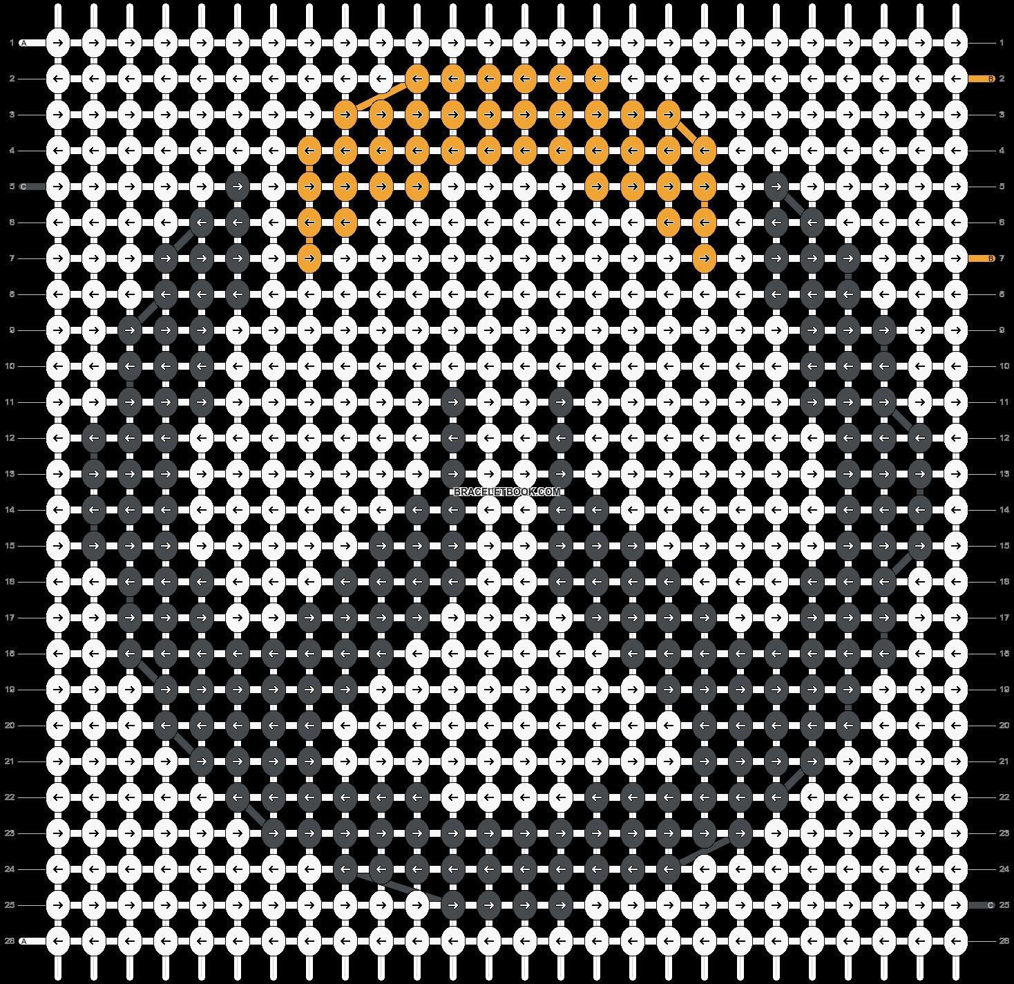 Alpha pattern #21691 pattern