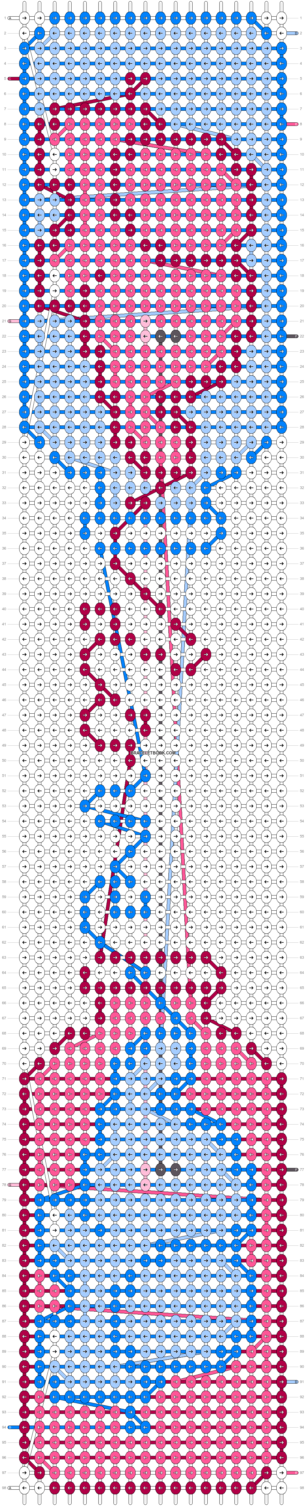 Alpha pattern #21693 pattern