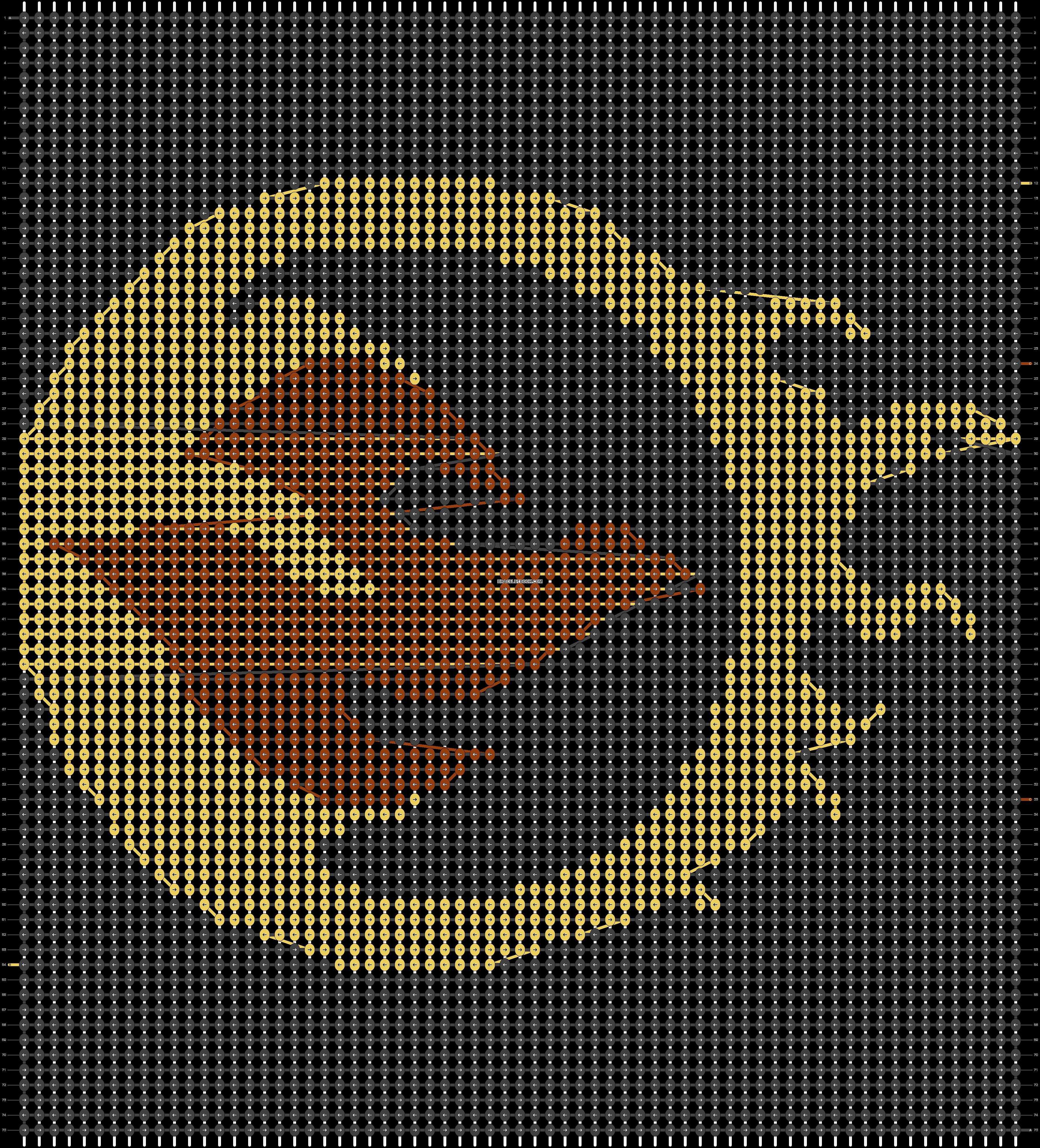 Alpha pattern #21696 pattern