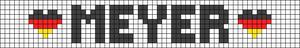 Alpha pattern #21697