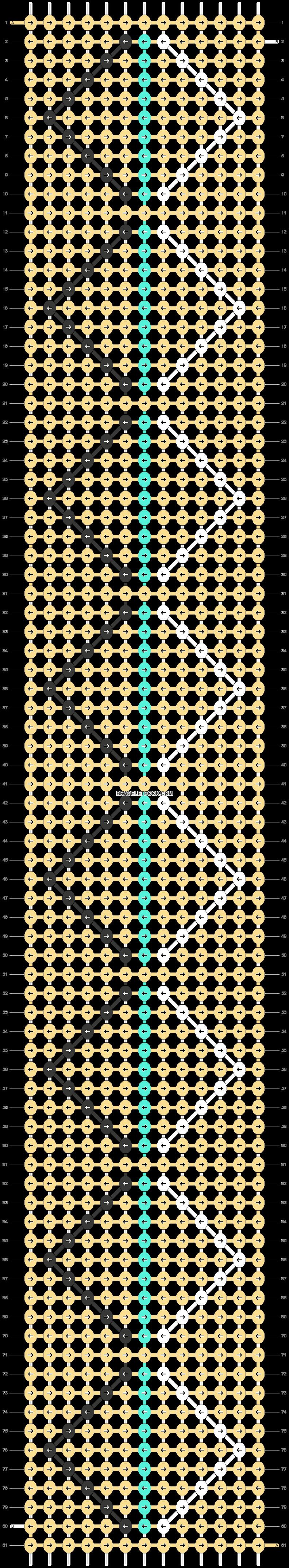 Alpha pattern #21698 pattern
