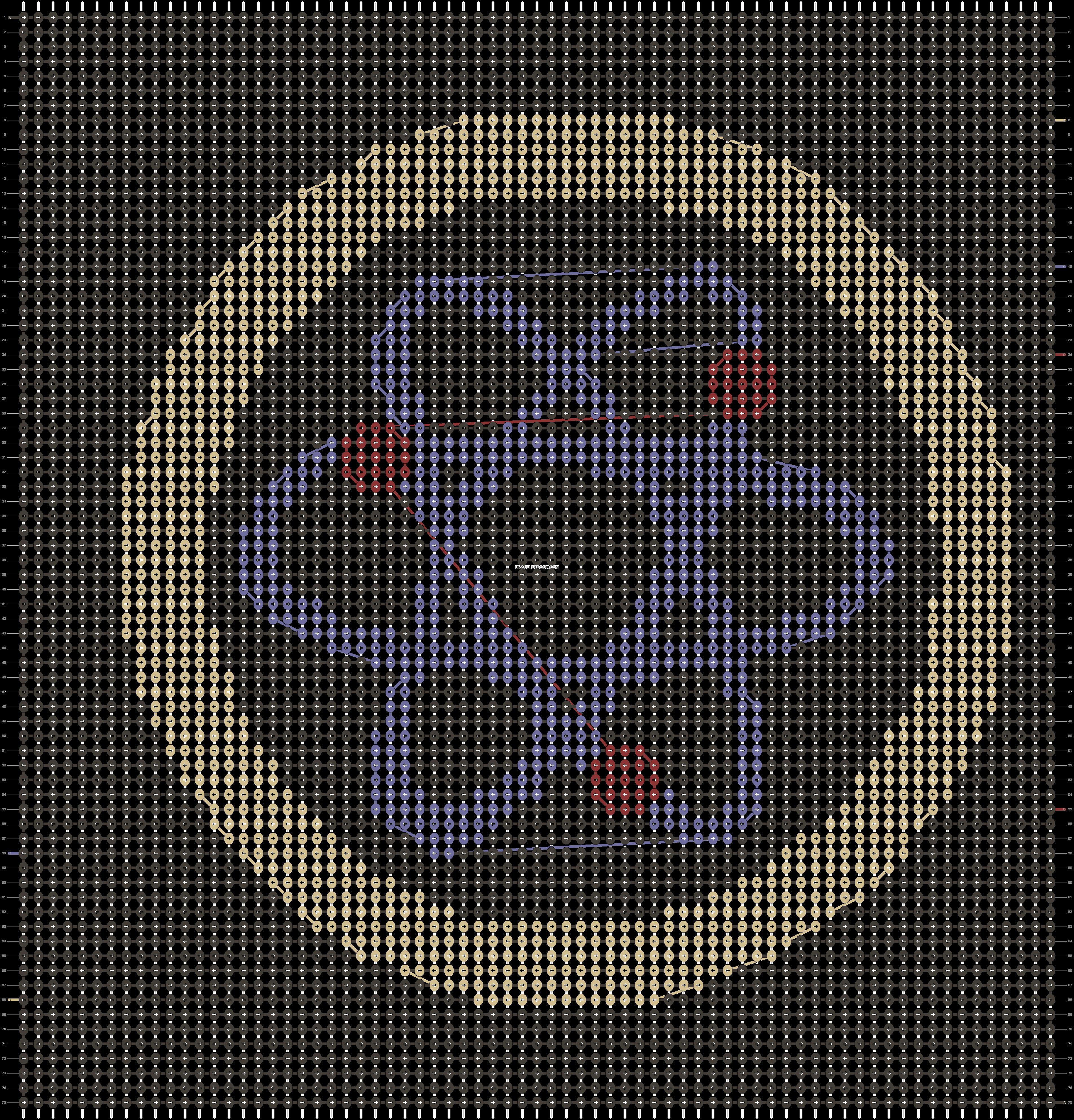 Alpha pattern #21699 pattern