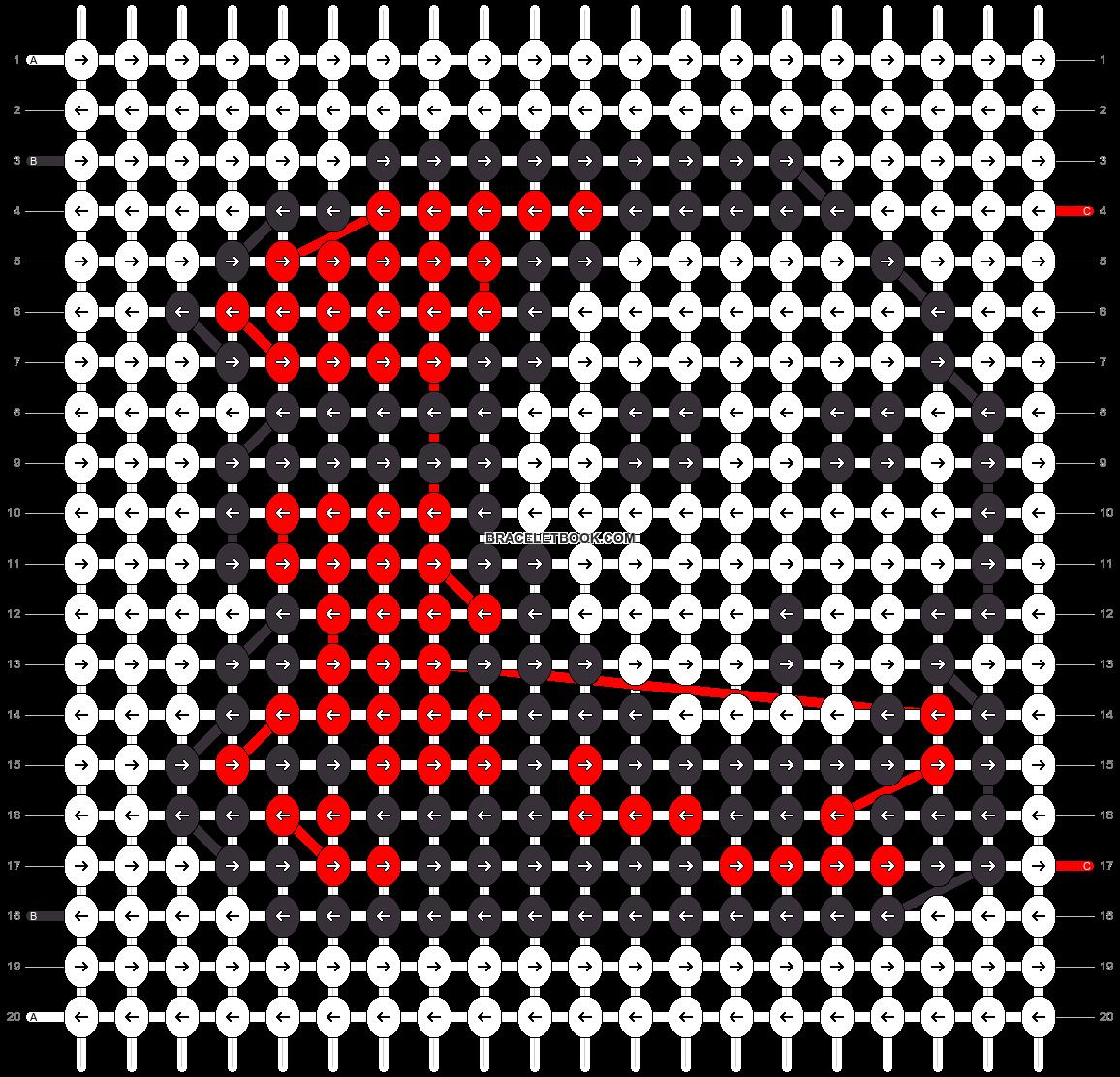 Alpha pattern #21704 pattern